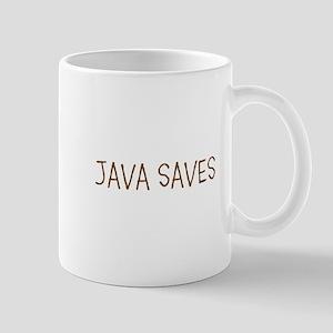 JAVA SAVES Mugs