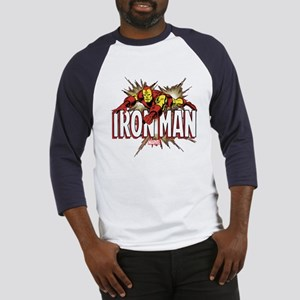 Iron Man Flying Baseball Jersey