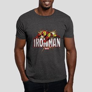 Iron Man Flying Dark T-Shirt