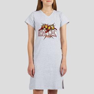 Iron Man Flying Women's Nightshirt