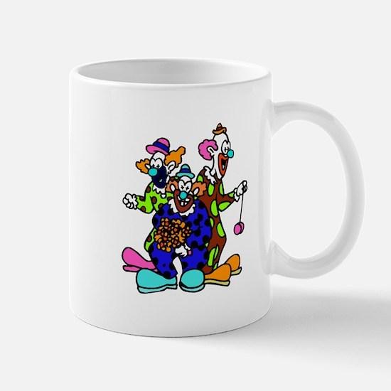 goofy clown Mugs