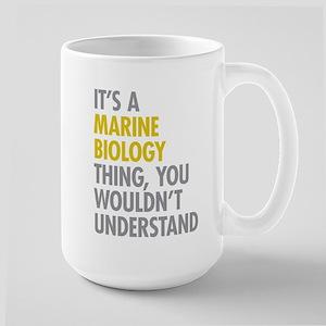 Marine Biology Thing Large Mug