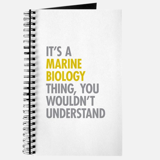 Marine Biology Thing Journal