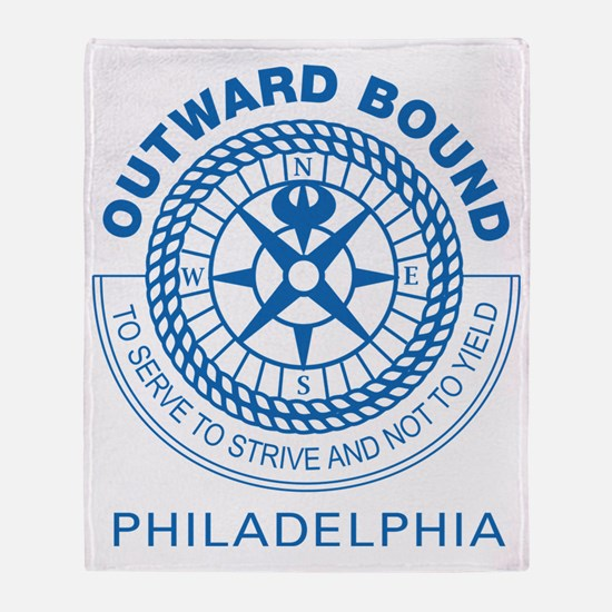 Outward Bound Philly Gear Throw Blanket
