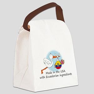 stork baby ecu 2 Canvas Lunch Bag
