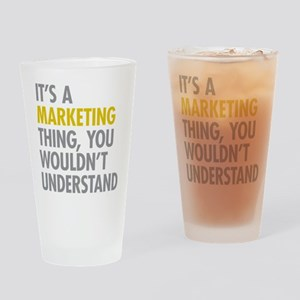 Marketing Thing Drinking Glass