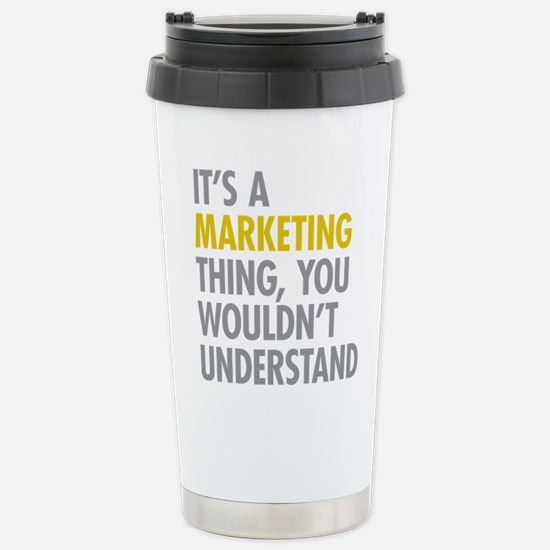 Marketing Thing Stainless Steel Travel Mug