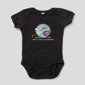 stork baby cuba white 2 Baby Bodysuit