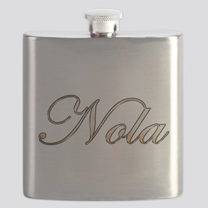 Gold Nola Flask