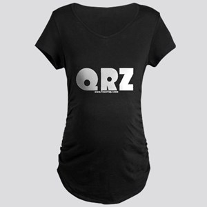 QRZ Maternity Dark T-Shirt