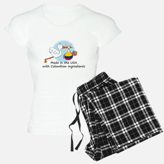 stork baby col 2.psd Pajamas