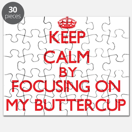 Keep Calm by focusing on My Buttercup Puzzle