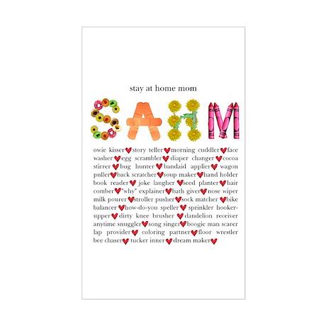 SAHM Rectangle Sticker