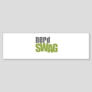 NERD SWAG Bumper Sticker