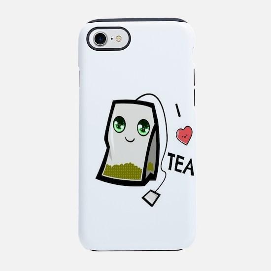 I Luv Tea iPhone 7 Tough Case
