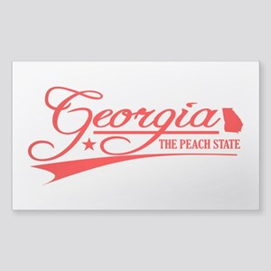 Georgia State of Mine Sticker