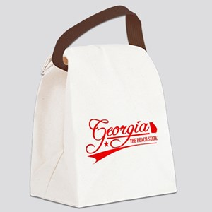 Georgia State of Mine Canvas Lunch Bag