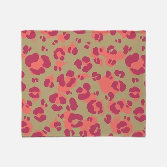 Leopard Print #2, Throw Blanket