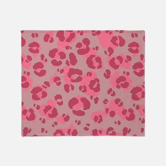 Leopard Print #3, Throw Blanket