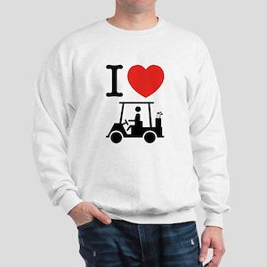 I Heart (Love) Golf Cart Jumper