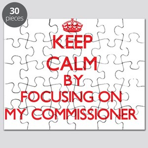 Keep Calm by focusing on My Commissioner Puzzle