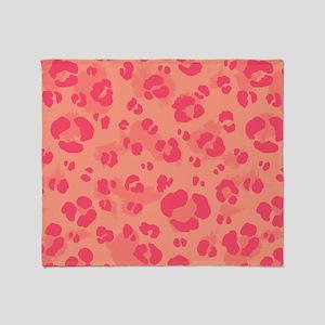 Leopard Print #5, Throw Blanket