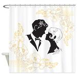 Roaring Twenties Lovers Shower Curtain