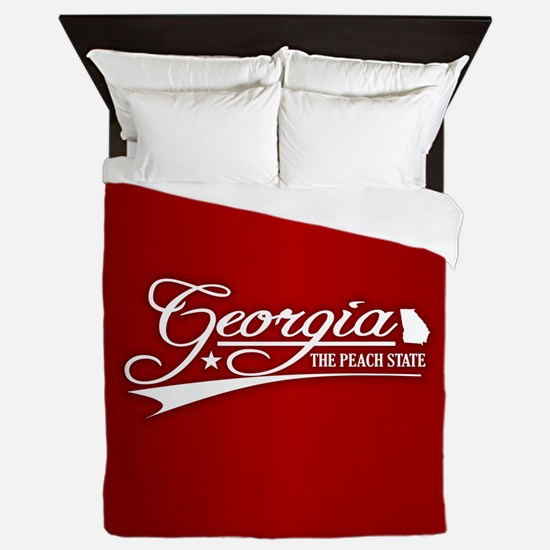 Georgia State of Mine Queen Duvet