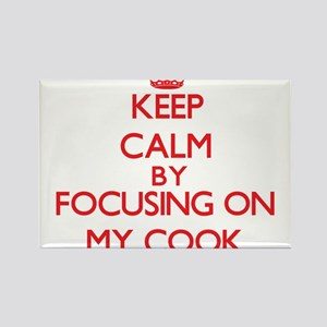 Keep Calm by focusing on My Cook Magnets