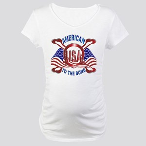 American to the Bone Maternity T-Shirt