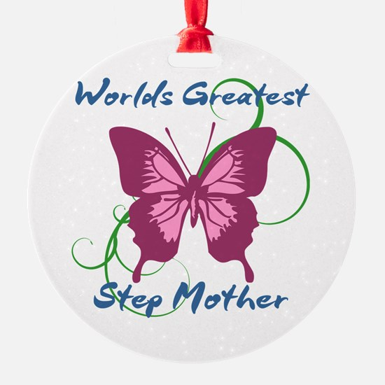 World's Greatest Step Mother Ornament