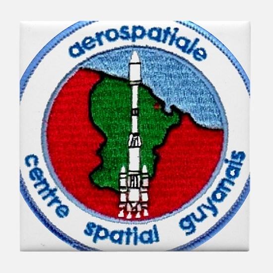 Aerospatiale Guiana Tile Coaster