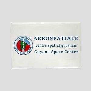 Aerospatiale Guiana Rectangle Magnet Magnets