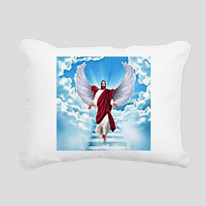 Lord In Heaven Rectangular Canvas Pillow