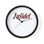 Infidel: Infidel Wall Clock