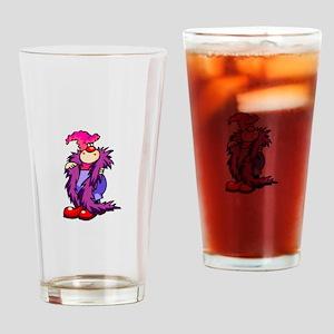clowny clown Drinking Glass