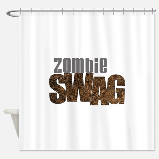 ZOMBIE SWAG Shower Curtain