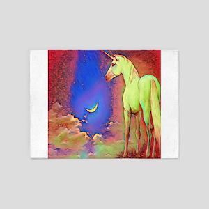 Mystic Unicorn 5'x7'Area Rug
