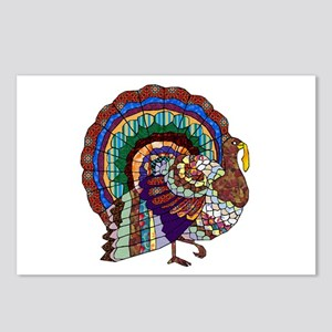 Thanksgiving Turkey Art Postcards (Package of 8)