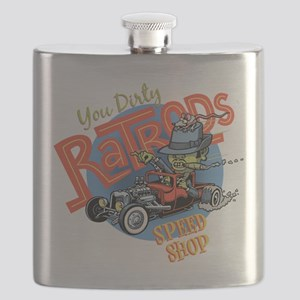 You Dirty Rat Rod Flask