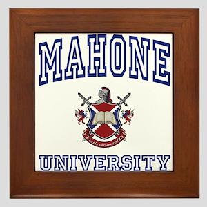 MAHONE University Framed Tile
