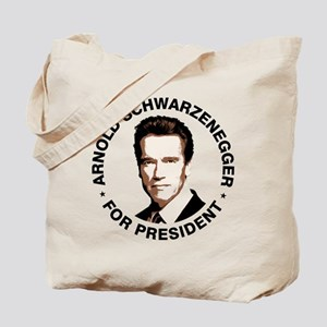 Arnold For President Tote Bag