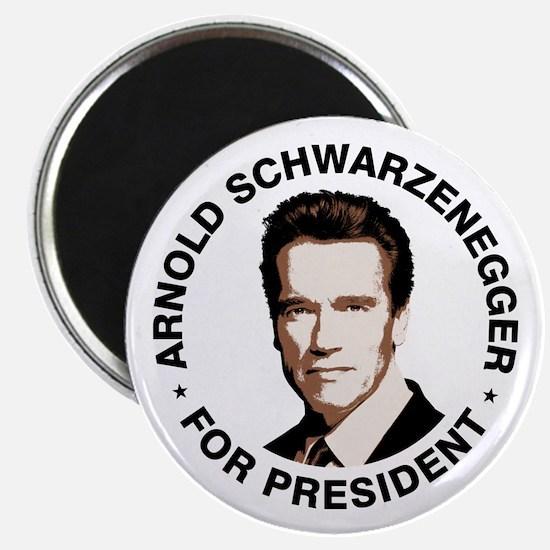 Arnold For President Magnet