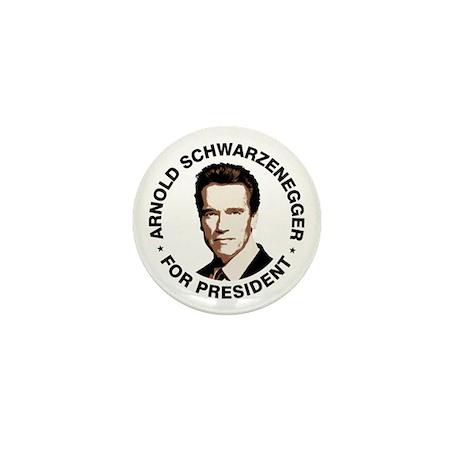 Arnold For President Mini Button
