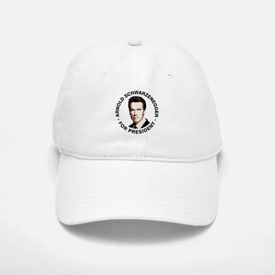 Arnold For President Baseball Baseball Cap