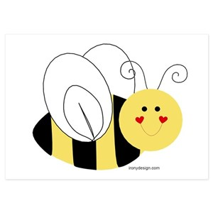 bee happy invitations and announcements cafepress