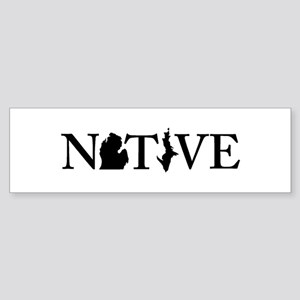 Native MI Bumper Sticker