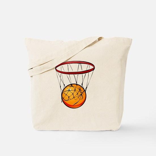 shoot hoops Tote Bag