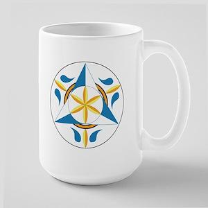 Large Spiritual Rain Hex Mug