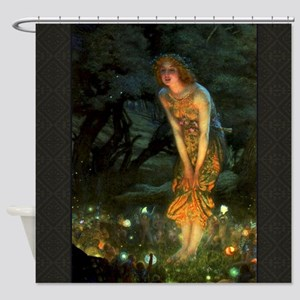 Fairy Circle Fairies Midsummer Eve Shower Curtain